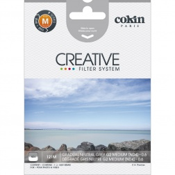 Cokin P Gradual Neutral Grey G2 Medium (ND4) Filter (P121M)