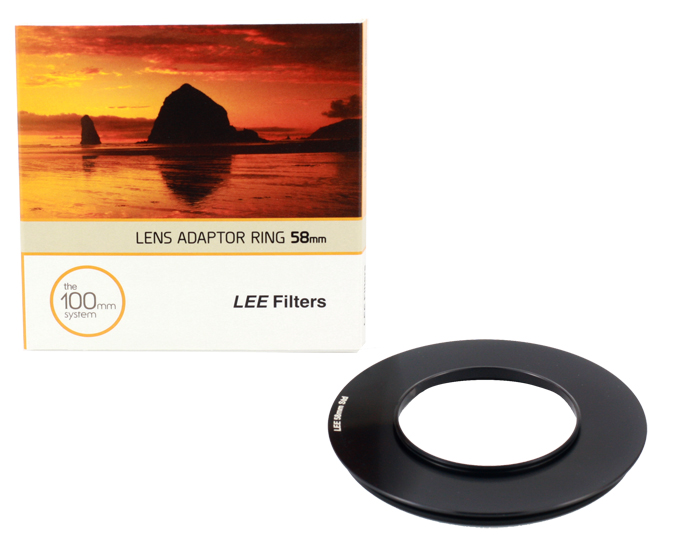 LEE Filters Lens Adaptor Ring 58mm Standard